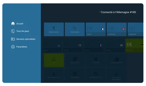 Illustration : NordVPN pour AndroidTV