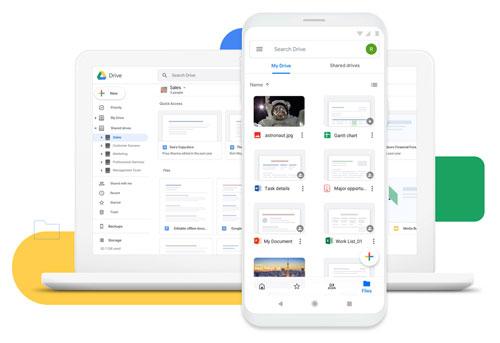 Illustration : google drive