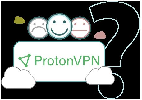 Illustration : Picto avis et critique de ProtonVPN