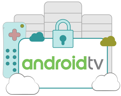 Picto : VPN Android TV
