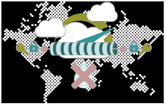 Illustration : pourquoi utiliser un VPN BitTorrent