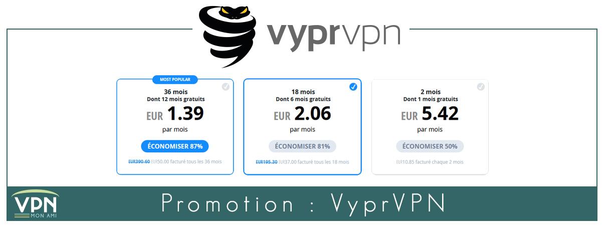 illustration : promotion VyprVPN