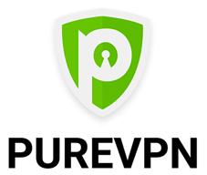 Logo de PureVPN en hauteur