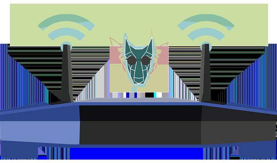 illustration d'un routeur sous VPN