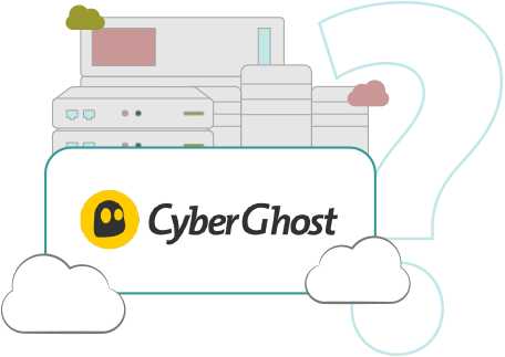Illustration : Picto serveur CyberGhost