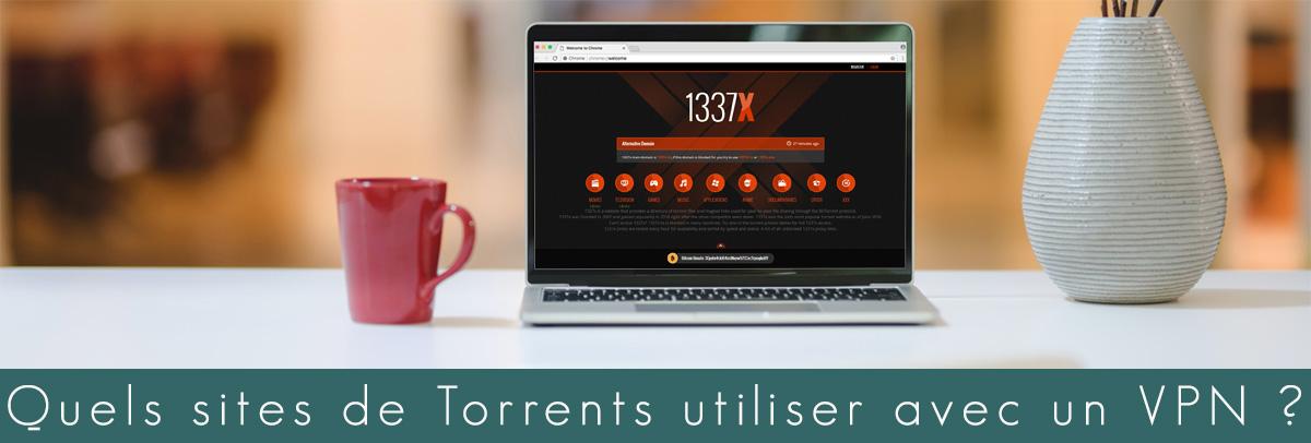 Illustration : Site de torrent avec un VPN