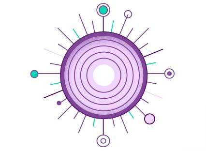 Illustration : écosystème du réseau Tor