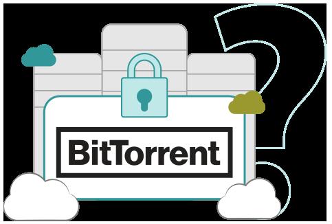Illustration : Picto VPN BitTorrent