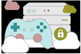 Illustration : VPN pour console