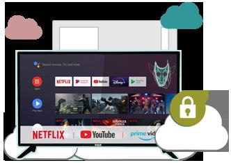 Illustration : VPN pour IPTV/SmartTV