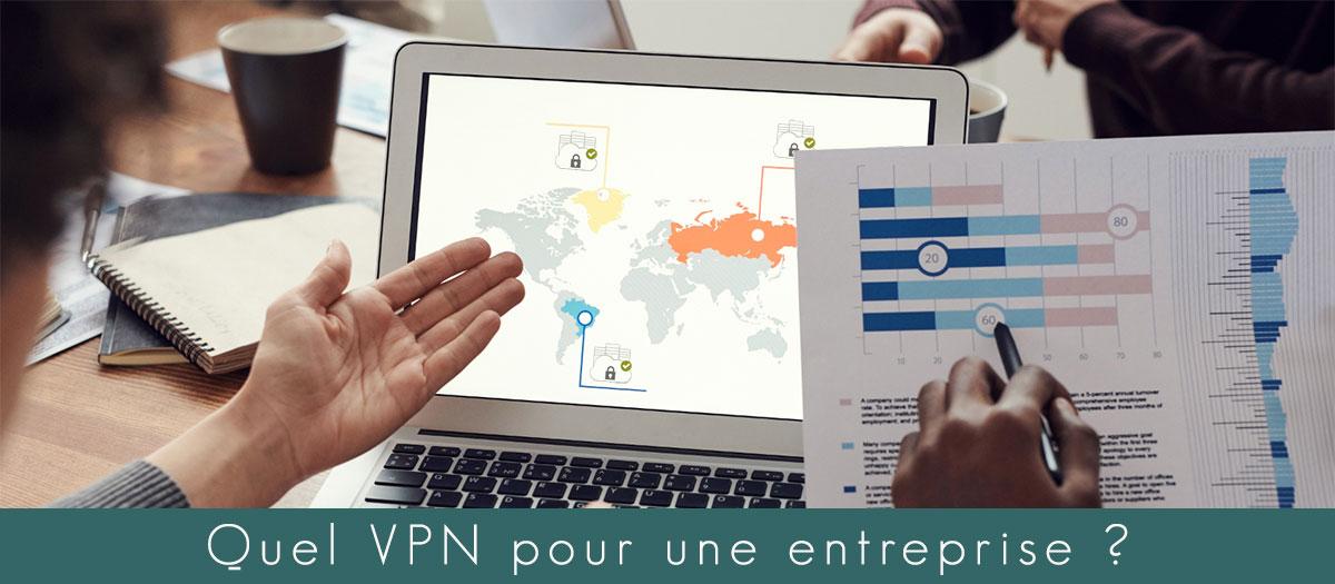 Illustration : VPN pour entreprise/ vpn pour professionnel