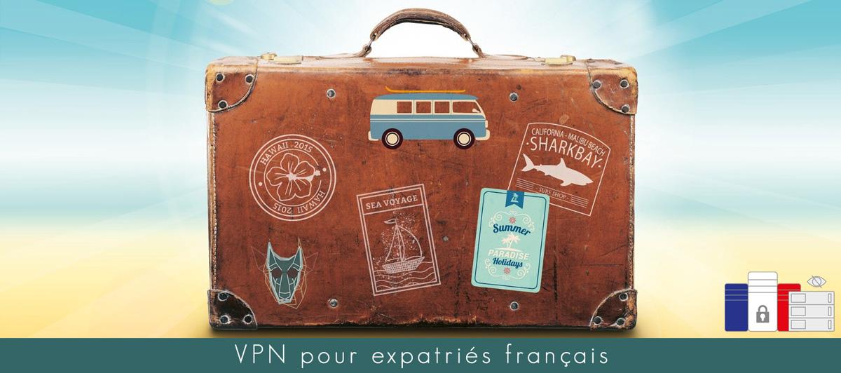 Illustration VPN pour expatriés