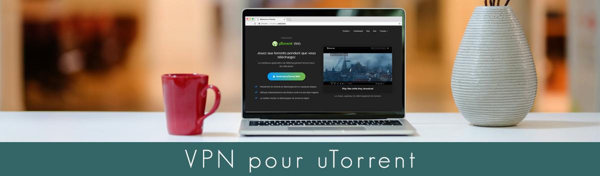 Illustration : VPN pour Utorrent
