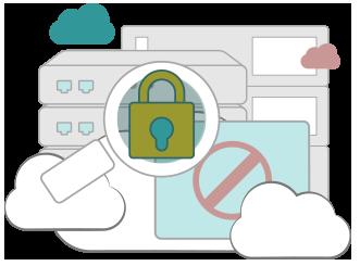 Illustration : Un VPN protège les données personnelles de son utilisateur