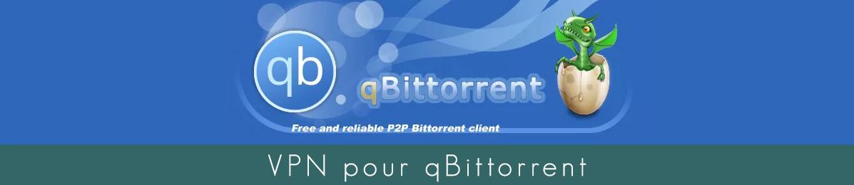 Illustration : VPN qBiTorrent